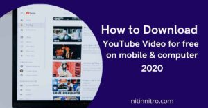 How to Download YouTube Video for free mobile