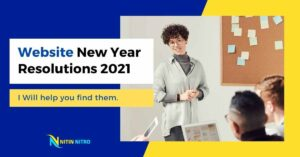 Website New Year Resolutions 2021 new